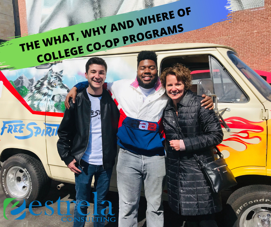 THE WHAT, WHY AND WHERE OF COLLEGE CO-OP PROGRAMS